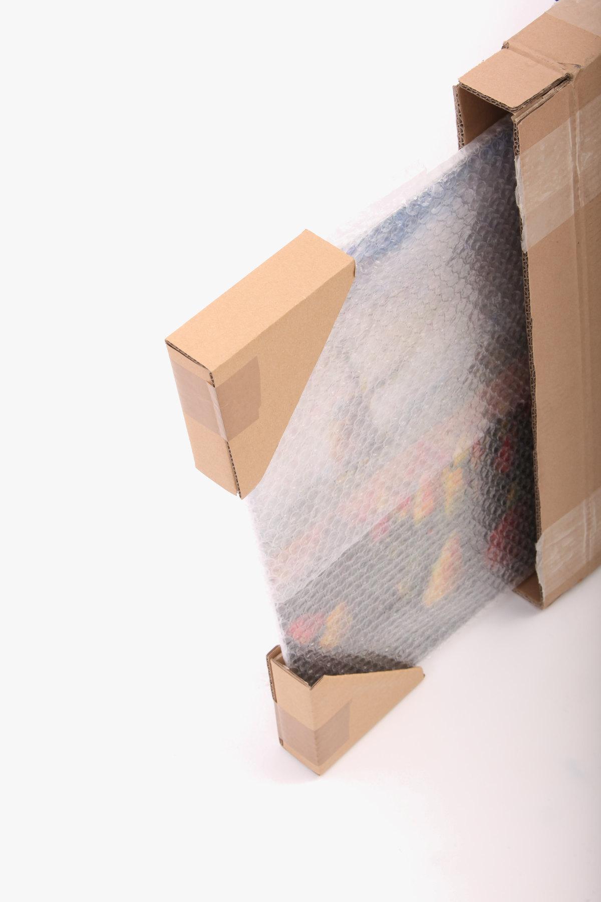 Fotomosaik Verpackung