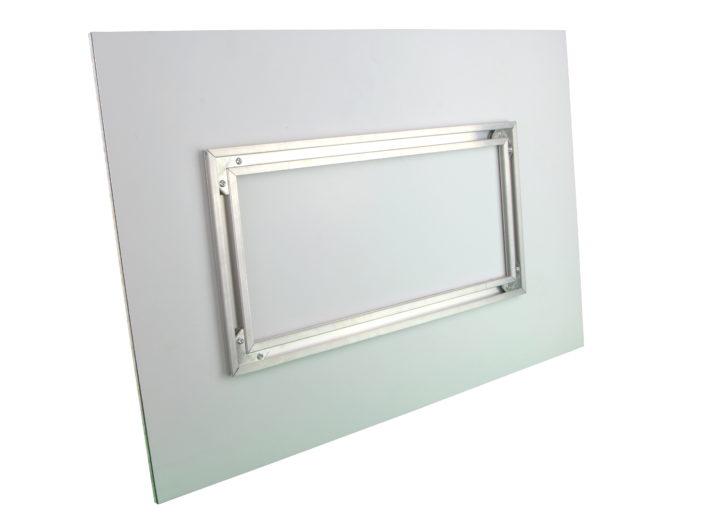 Aluminium frame suspension