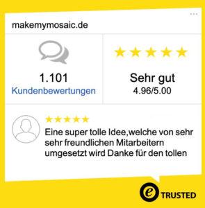 Trusted Shops MakeMyMosaic
