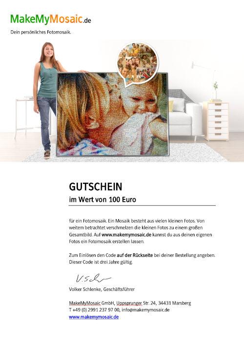 MakeMyMosaic Gutschein